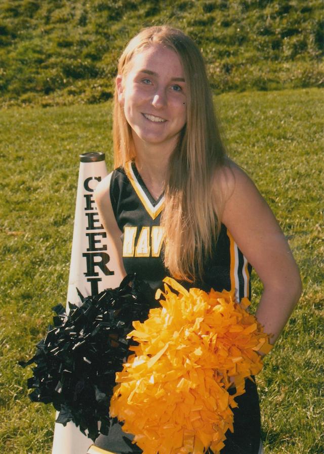 Kathryn Cheerleading